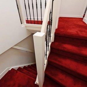 Mooi rood is niet lelijk. Heel gewaagd, but I love it!